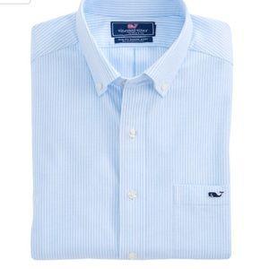 Vineyard Vines Slim Fit Tucker Shirt Size Small